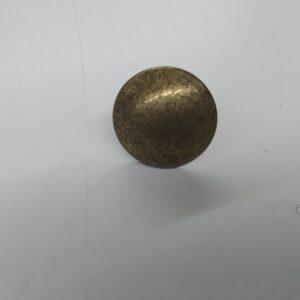 Tacha Olha de Boi Ouro Velho de 20mm
